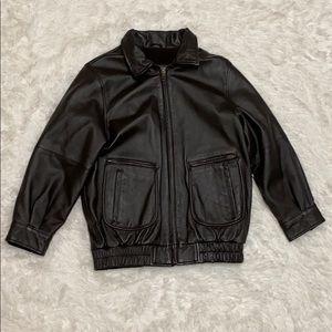 Wilsons Leather Fleece Lined Jacket